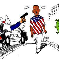 Covid Blacks Capitalism Carlos-Latuff