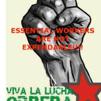 Covid Essential Workers Are Not Expendable
