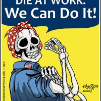 Covid Essentiall workers Starve At Work, Die At Home We Can Do It