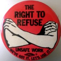 Covid Right to refuse button