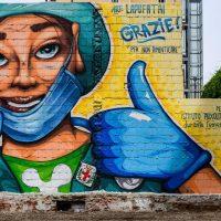 Covid mural Cuba?